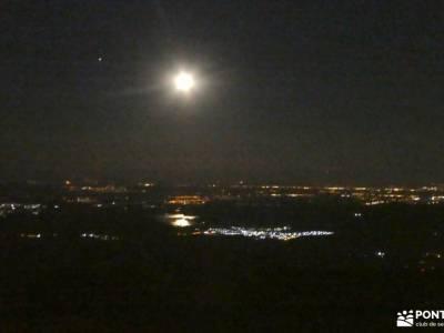 Vespertina en Perdiguera con Luna Llena; murcia senderismo rutas por asturias valencia senderismo ru